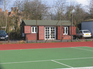 Swakeleys tennis club hut